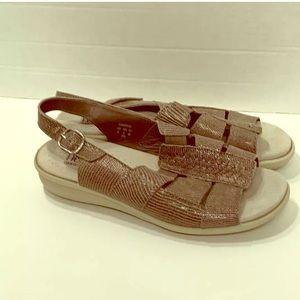 Hotter Comfort Classic Sandals! Leather! Size 8!